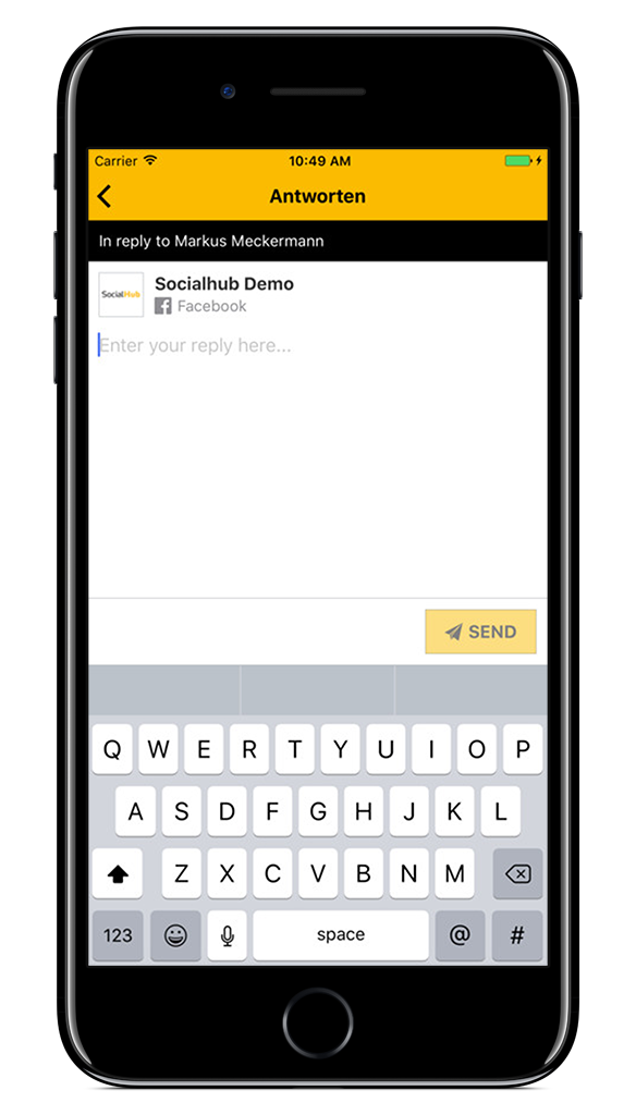 SocialHub Go Ticket Reply